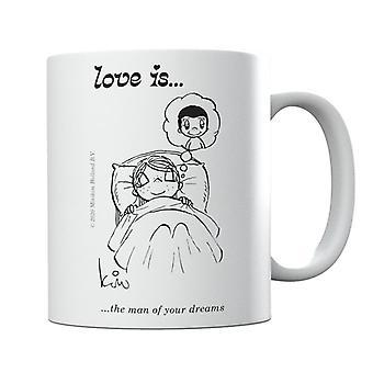 Rakkaus on unelmiesi mies -muki