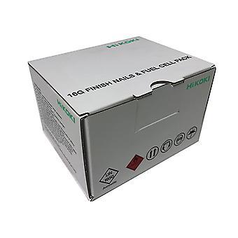 HiKOKI Second Fix Straight Nail 40mm & Fuel (Pack 2500)