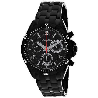 Mathey Tissot Hombres's Bolton Reloj de marcación negra - H5002CHN