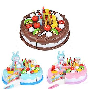 Protend Play Fruit Cuting Birthday, Kitchen Cake Food For Educational/// Baby/