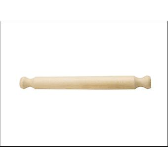 Kitchen Craft Solid Beech Rolling Pin 40cm KCSOLPIN