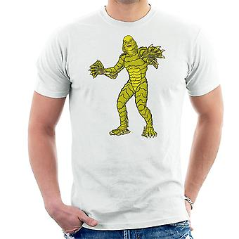 The Creature From The Black Lagoon Full Body Illustration Men's T-Shirt