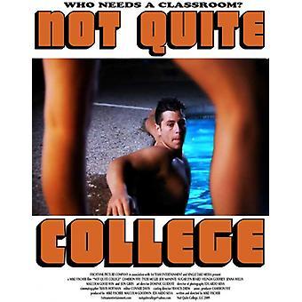 Nicht ganz College Movie Poster (11 x 17)