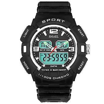 SMAEL 1378 Fashionable Electronics Display Sport Watch Digital and Analog Dual