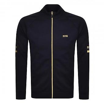 Boss Green Hugo Boss Skaz 1 Zip Up Sweatshirt Navy 50434916
