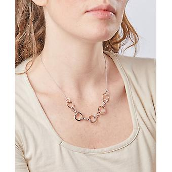 Elements Silver Women Statement Necklace of Length 40cm N4294