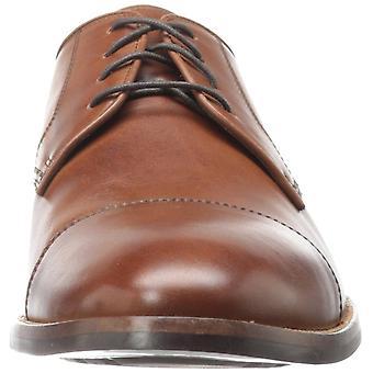 Cole Haan Men's Shoes Lenox Hill Cap Leather Lace Up Dress Oxfords