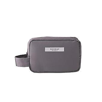 Mini Toilettentasche 16x11 cm Grau