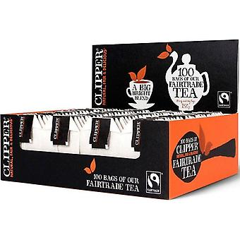 Clipper Fairtrade Everyday S & T Teabags 100's x 6