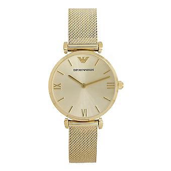 Armani Ar1957 Gold Mesh Strap Damen's Uhr
