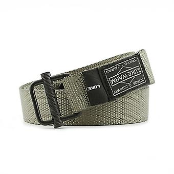 Army Combat Waist Belt, Black For Jeans, Lukewarm Nylon Tactical Metal Buckle