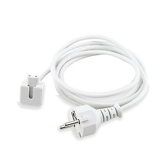 Eu Plug Extension Cable Cord For Macbook Pro Air Charger Cable Power Cable