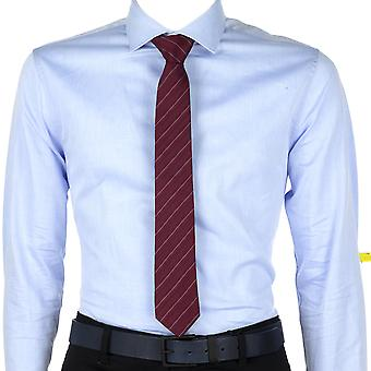Calvin Klein Men Tie Willow Stripe Red