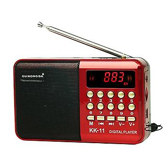 Radio Draadloze Luidsprekers & Music Player - Digitale Mini Radio Multifunctionele Fm
