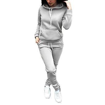 Vrouwen Sportkleding Hooded Fleece Verdikt sweatshirt, Winter Herfst Sports Suits