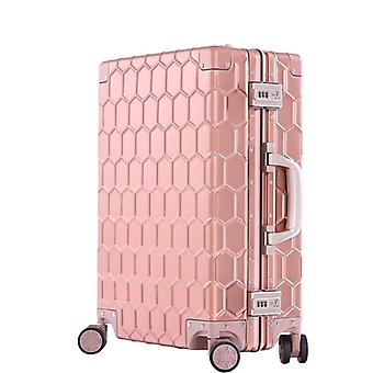 Travel Trolley, Luggage Suitcase With Tsa Lock, Hardside Rolling With Wheels