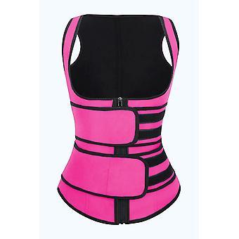 Women's Latex Underbust Sport Girdle Waist Trainer Corsets