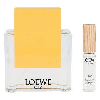 Women's Perfume Set Solo Ella Loewe EDT (2 pc's)