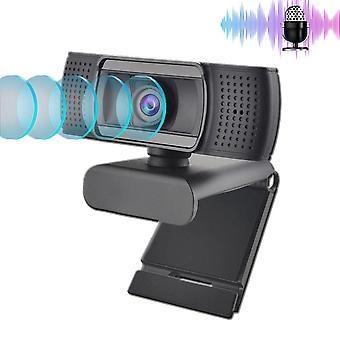 Usb 2.0 Web Webcam Full Hd 1080p Ashu H601 Video Recording Web Camera With