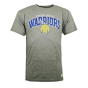 Mitchell & Ness Team Logo Tee Golden State Warriors T-Shirt TEAMLOGOTRAD GSW