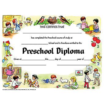 "Preschool Diploma, 8.5"" X 11"", Pack Of 30 H-Va206Cl"