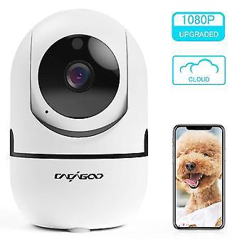 Cacagoo baby monitor, security camera wifi camera 1080 hd pan/tilt wireless pet camera
