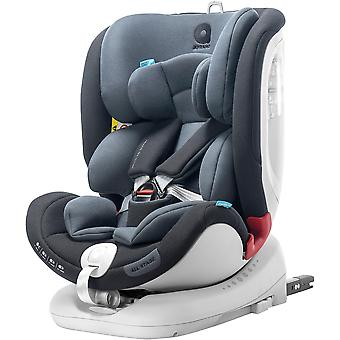 Apramo All Stage Child Car Seat Group 0+/1/2/3 Midnight Black