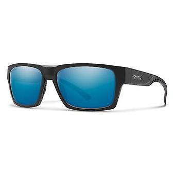 Smith Outlier 2 124/QG Matte Black-Silver/Blue Mirror Gafas de sol
