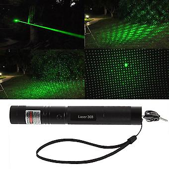 Powerful Laser Pointer, Adjustable Focus, Pen Light For Hunting Sight