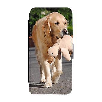 Golden Retriever iPhone 11 Portemonnee Hoesje