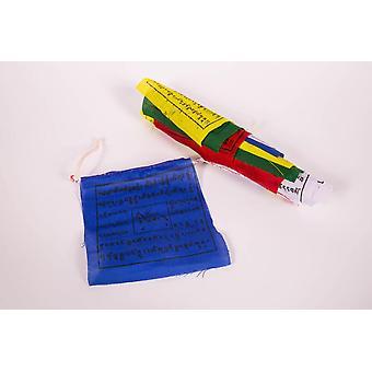 Mini Flags - Tibetan Bunting Indoor or Outdoor 10cmx127cm