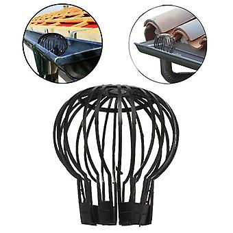 Flexible Downpipe Plastic Roof Gutter Balloon Guard Filters