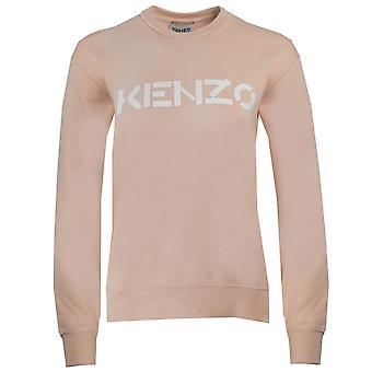 Kenzo Classic Logo Vaaleanpunainen Naisten Jumper