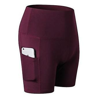 Drei-Punkt-Yoga-Shorts
