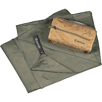 Gear Aid Quick Dry Microfiber Travel Towel - Moss