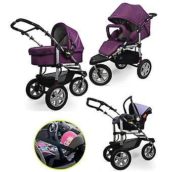 Baby Stroller Car Suspension Folding Buggiest Including Sleeping Basket