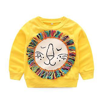 Lasten sarjakuva Lion Puserot -t-paita