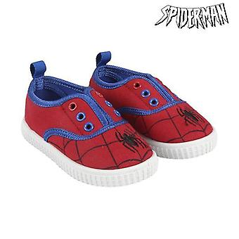 Children's casual trainers spiderman 73552 red red