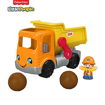 Fisher-price little people dump truck