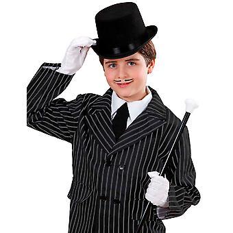Chapeau haut de forme noir enfant