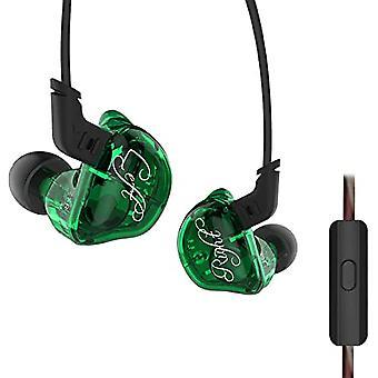 KZ Audio KZ ZSR - 10mm Triple Driver Earbuds - Green