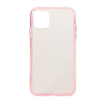 Phone Case (Pink) Clear ShockProof Soft TPU Silicone For iPhone 11 Pro