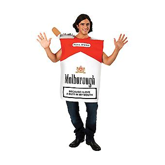 Orion kostuums Unisex nieuwigheid Giant sigaret Packet Stag do fancy dress kostuum