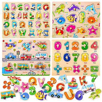 Holzpuzzle, 4 stecken Puzzle Hlzernes Spielzeug,Holz puzzle,Holzpuzzle fr Kinder,Holzpuzzle ab