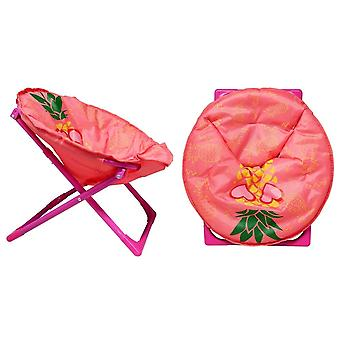 Fällbar trädgårdsstol lätt sits bärbar pall för vandring campingstrand