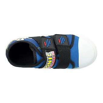Boys Blue Madeira Sonic The Hedgehog Low-Top Trainer UK Sizes Child 10 - 2