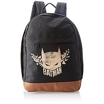 ABYstyle - DC COMICS - Batman - Backpack - Logo - Black (35 x 12 x 41 cm)