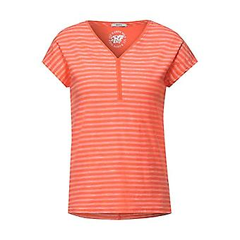 Cecil 316256 T-Shirt, Coral, XXL Woman