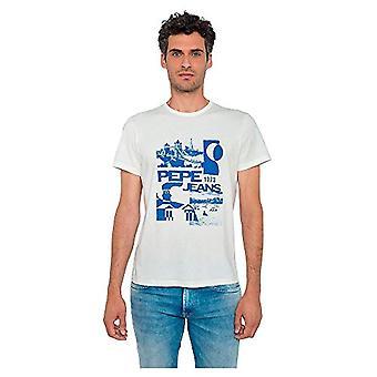 Pepe Jeans Dan T-Shirt, 803off White, XS Men's