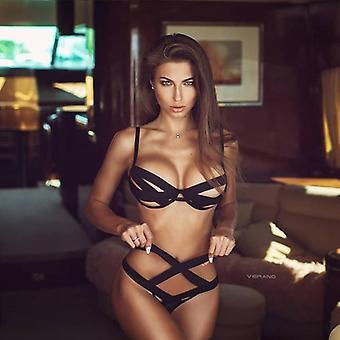 נשים סקסיות בגדי שינה רשת חליפת חתול